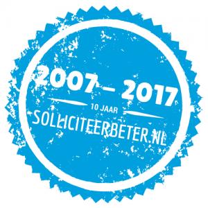 10 jaar Solliciteerbeter.nl - voor opvallend goede sollicitaties